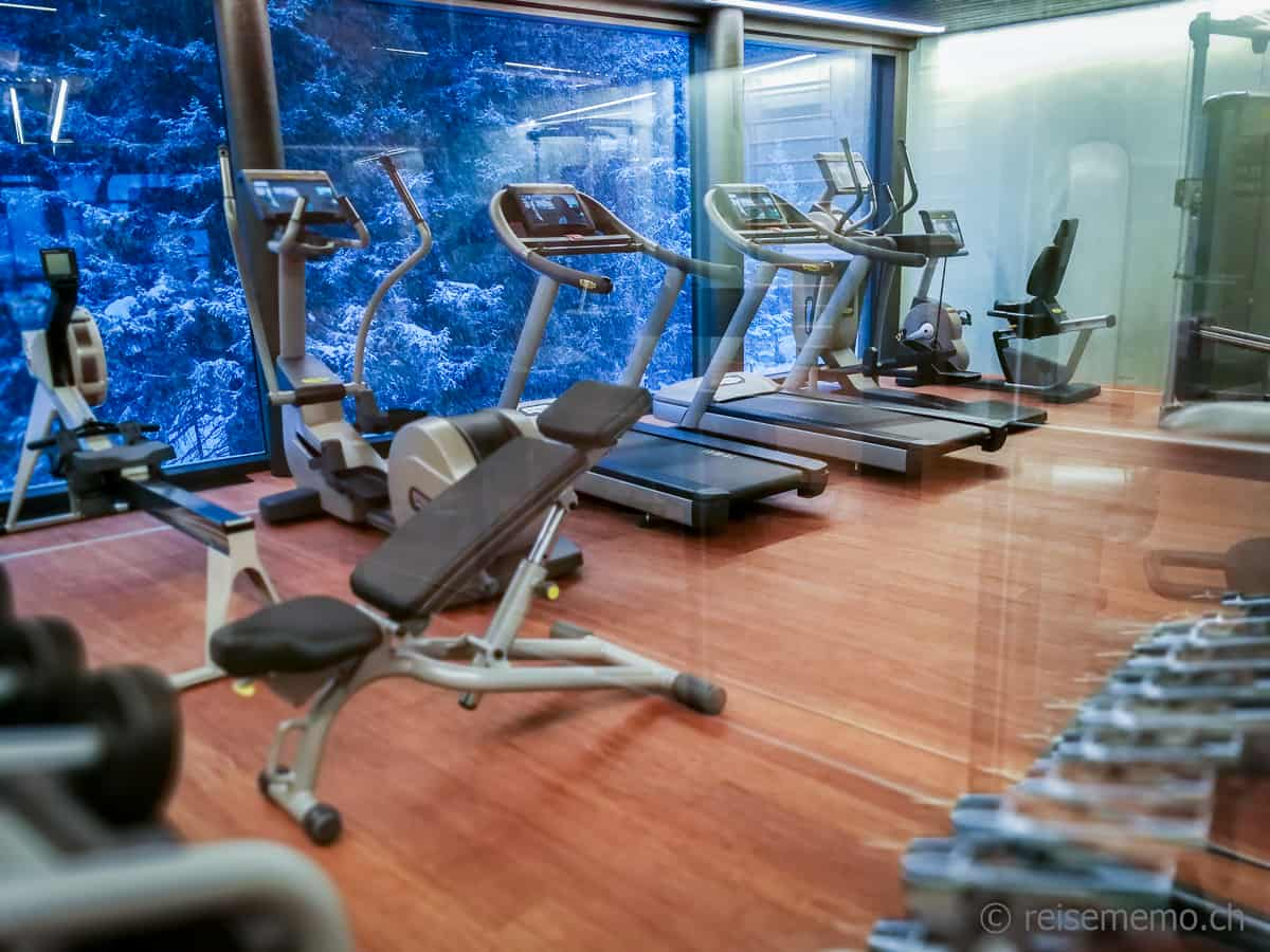 Gym im Valsana Hotel Arosa