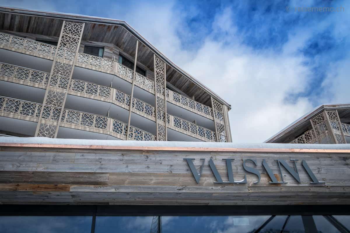 Aussenansicht Hotel Valsana Arosa
