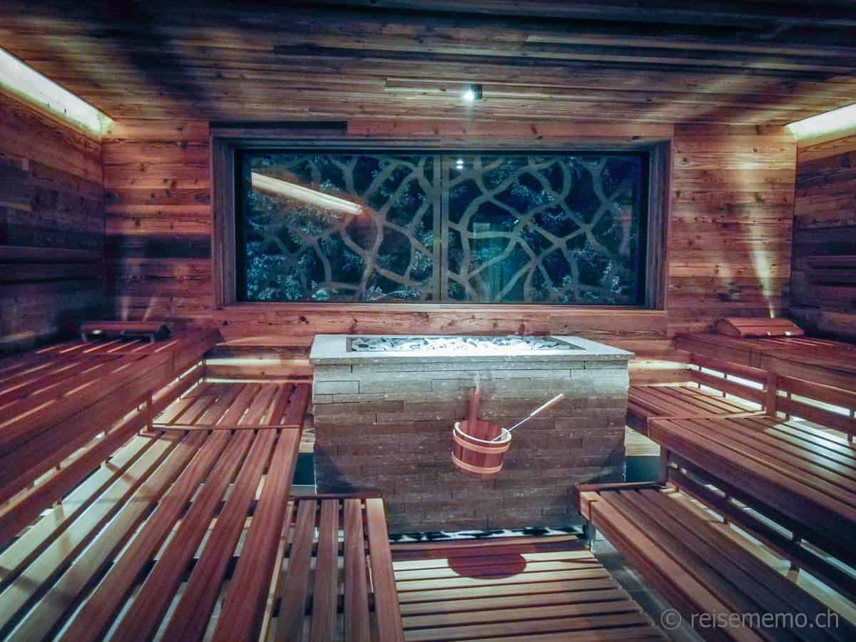 Finnische Sauna Valsana Hotel Arosa
