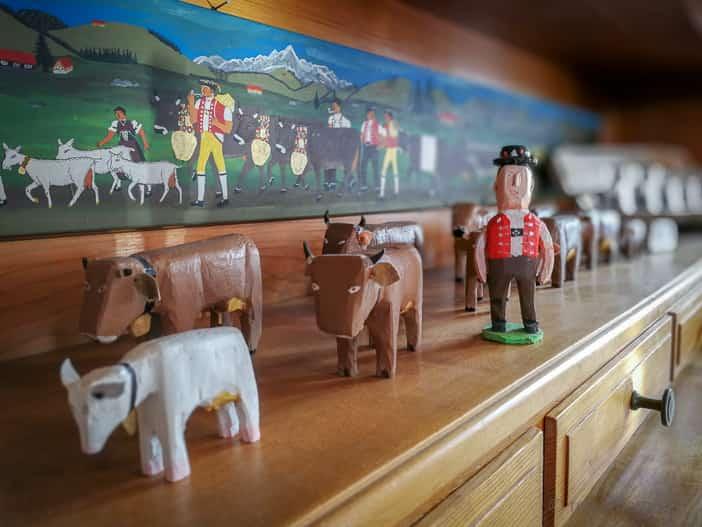 Alp Altschwand dekorativer Alpaufzug