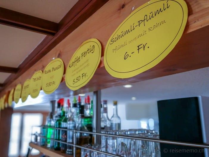 Alp Altschwand Kaffee Schnaps