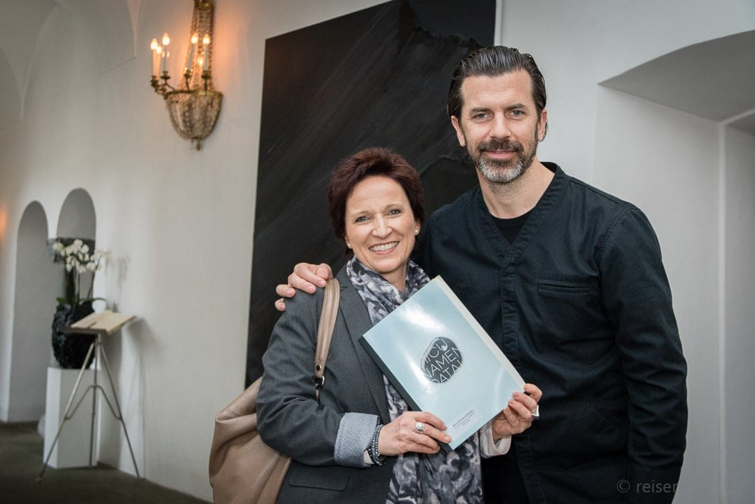 Katja Birrer mit Andreas Caminada