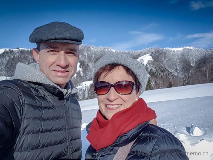 Walter Schärer und Katja Birrer im Atzmännig