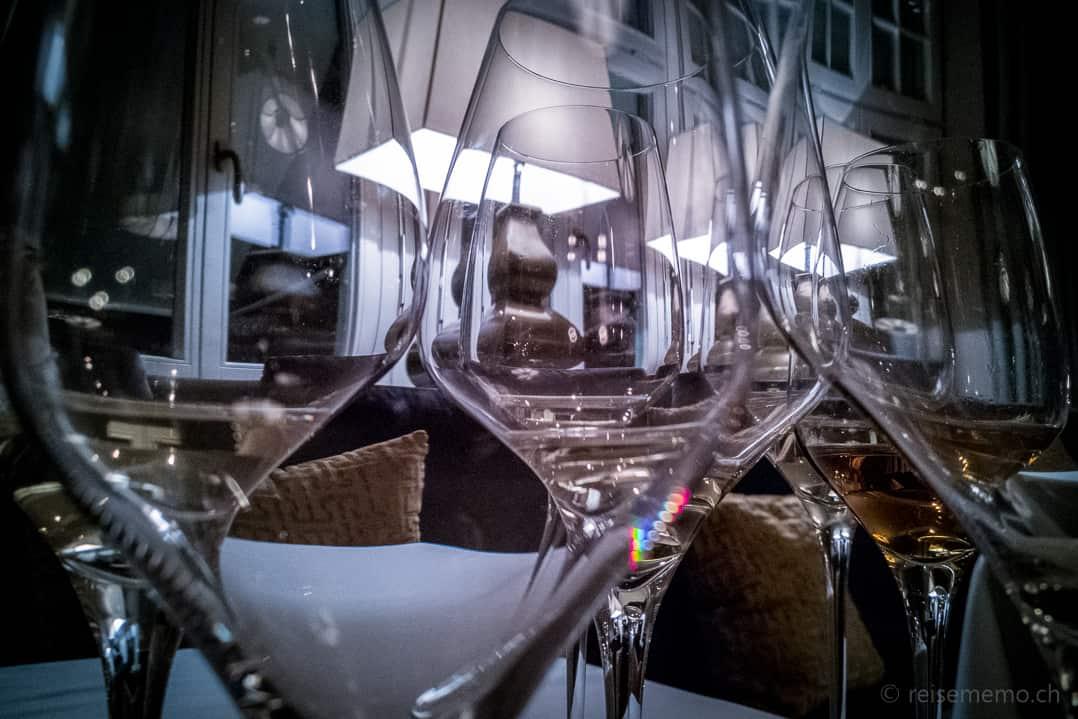 Weinbegleitung zum Riva Gourmet-Menu