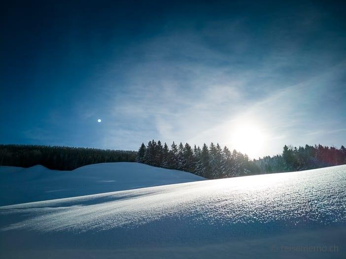 Winterlandschaft im Atzmännig