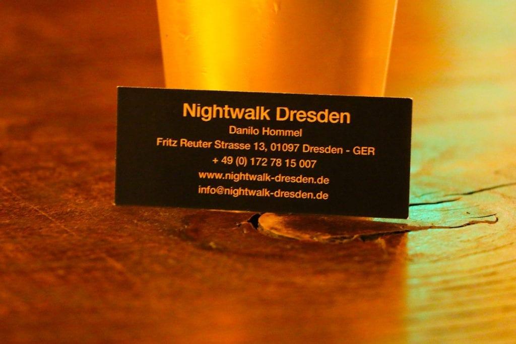 Nightwalk Dresden mit Danilo Hommel