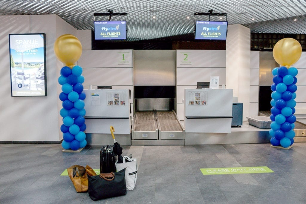 Check-in Antwerp Airport