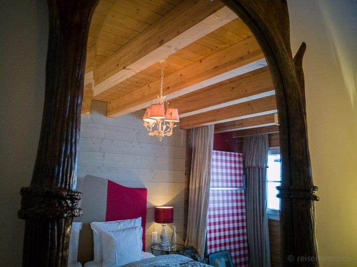 Hotelzimmer der Hamilton Lodge