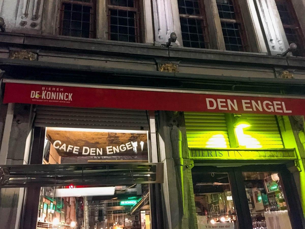Cafe Den Engel Antwerpen