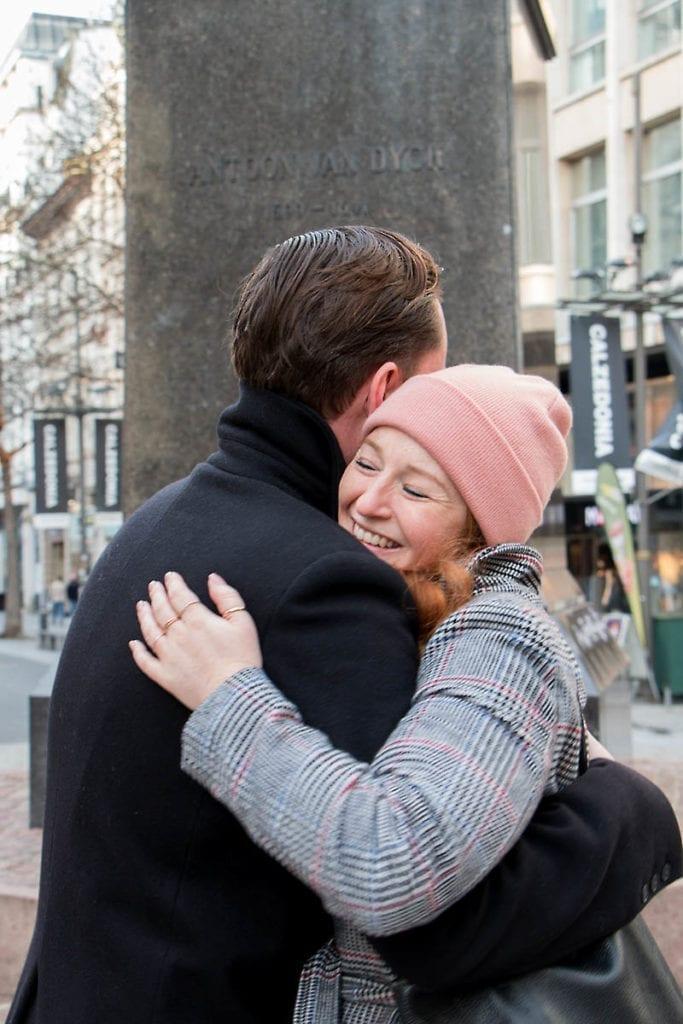 Tanguy Ottomer tanzt mit Susanne Gosch von visitflanders