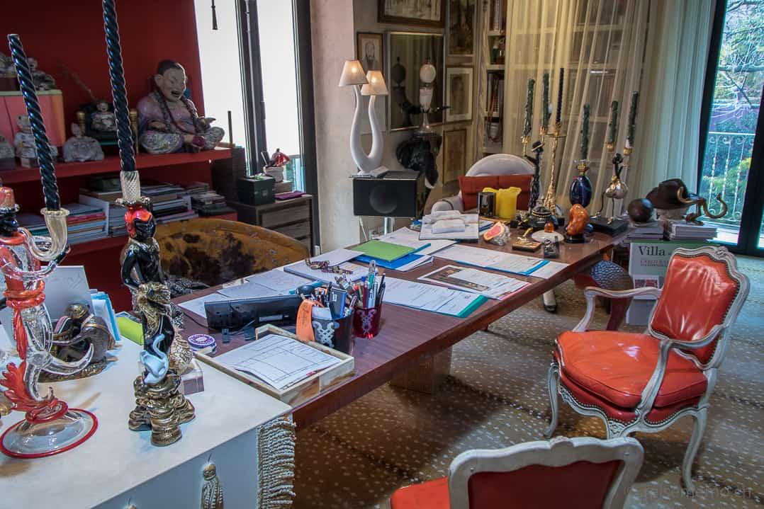 Bürotisch von Carlo Rampazzi im Atelier Selvaggio
