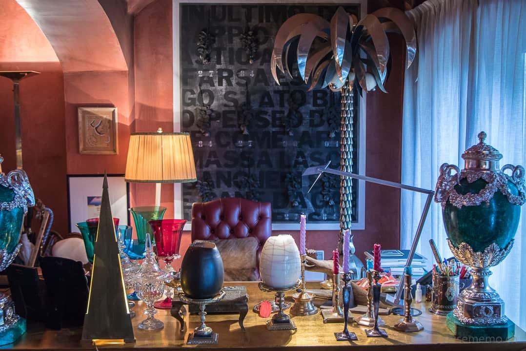 Showroom im Atelier Selvaggio von Carlo Rampazzi