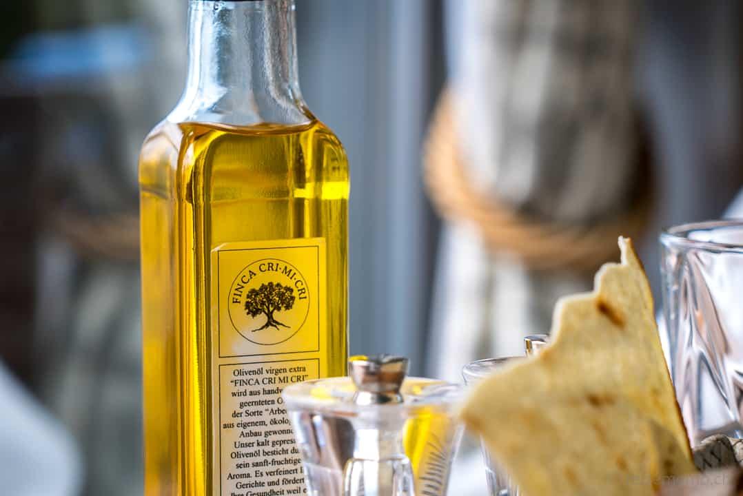 Olivenöl der Finca Cri Mi Cri im Marina Ascona