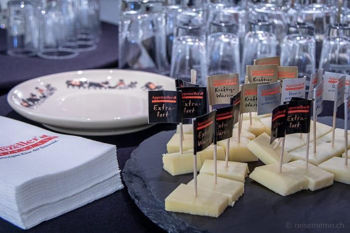 Degustation Appenzeller Käse