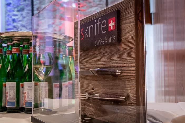 Designer-Besteck von Sknife mit Messer und Gabel