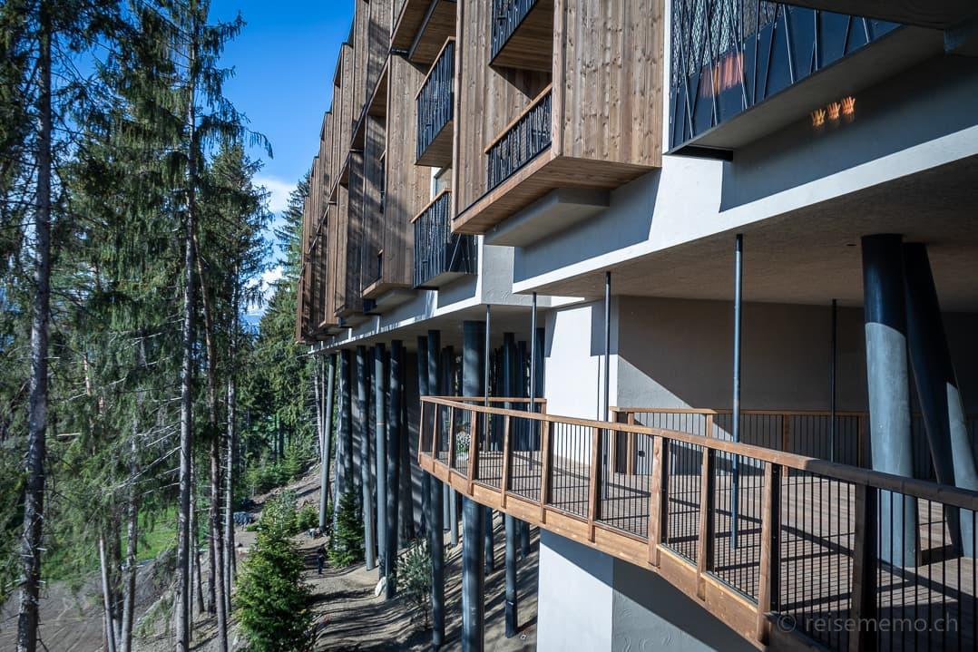 Aussenansicht und Loggien My Arbor Hotel