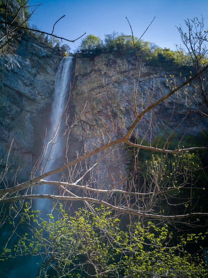 2. Kaskade der Seerenbachfälle