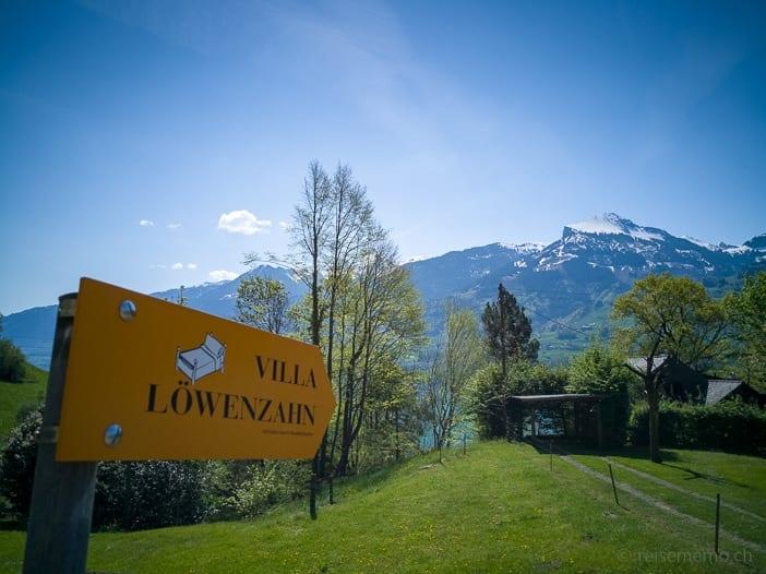 Übernachtungsmöglichkeit in der Villa Löwenzahn