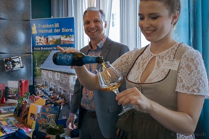 Bierkönigin und Bier-Ambassadorin Sabine-Anna Ullrich