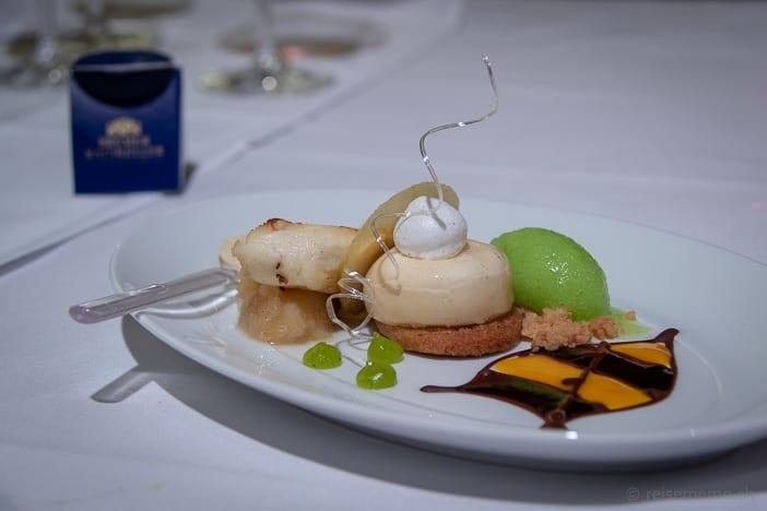 Dessert: Quarkkeulchen und Apfelkuchen von Mario Pattis