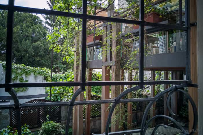Terrassenanbau des Finsterwirt Restaurants