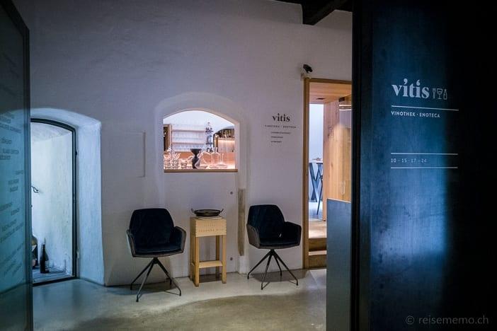 Vitis Vinothek und Restaurant in Brixen