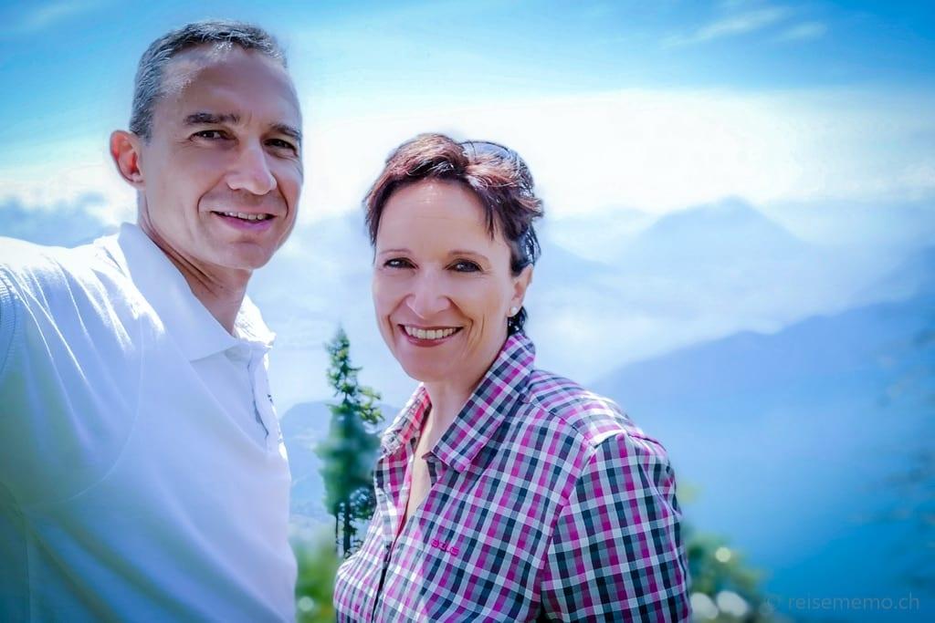 Walter und Katja auf der Rigi