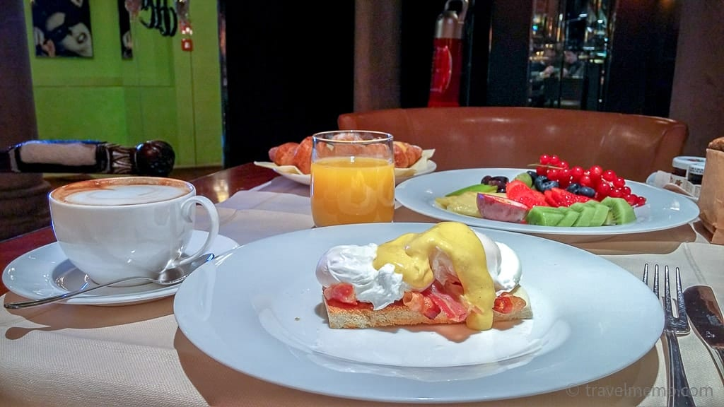 Benedetto all'uovo vom Frühstück im Palazzina G Hotel in Venedig