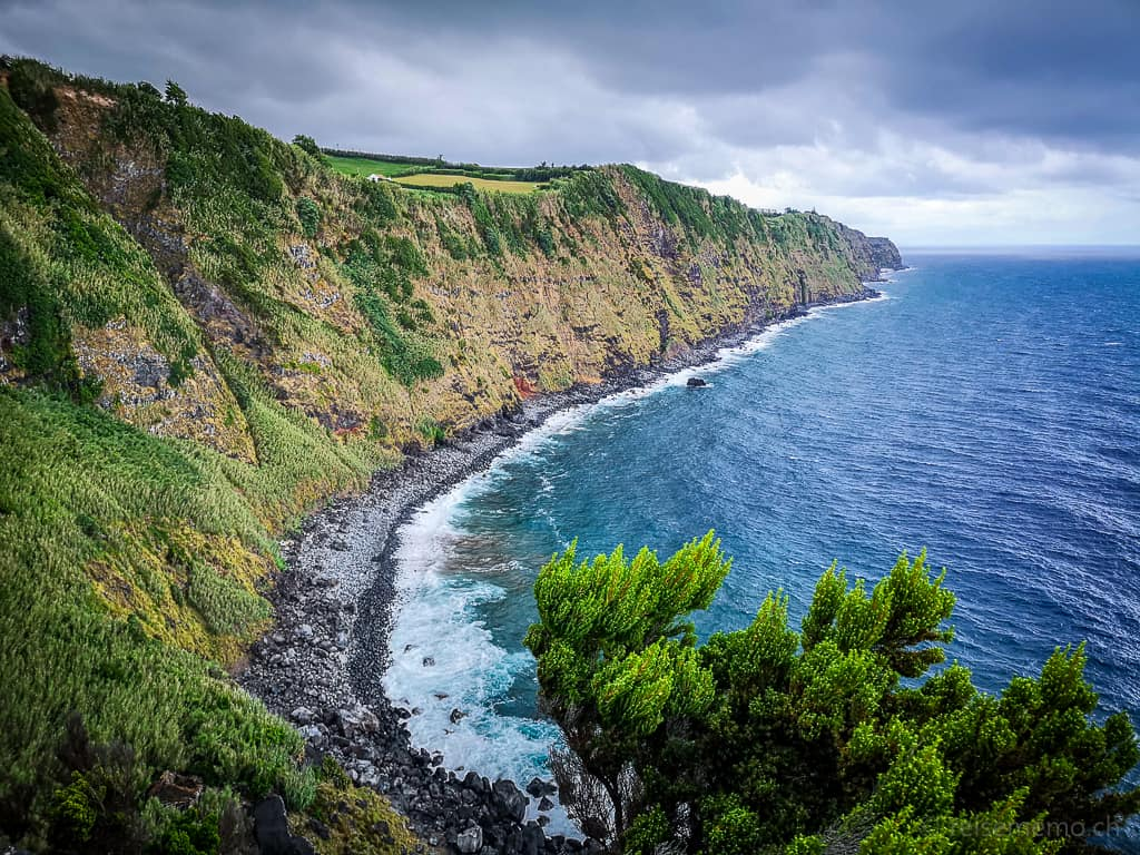 Atlantikküste auf Sao Miguel Azoren