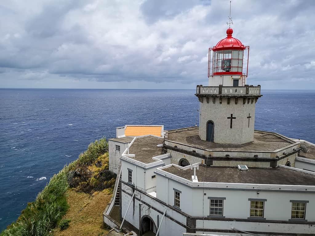 Leuchtturm Farol da Ponta do Arnel