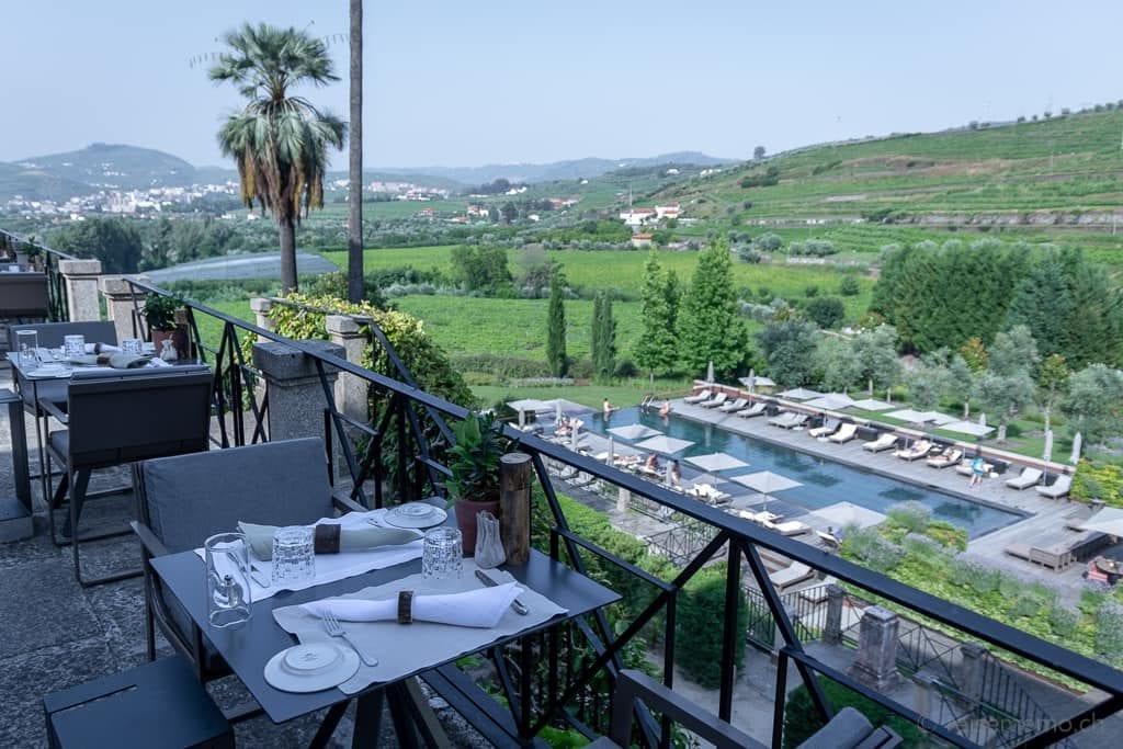 Aussicht von der Restaurant--Terrasse