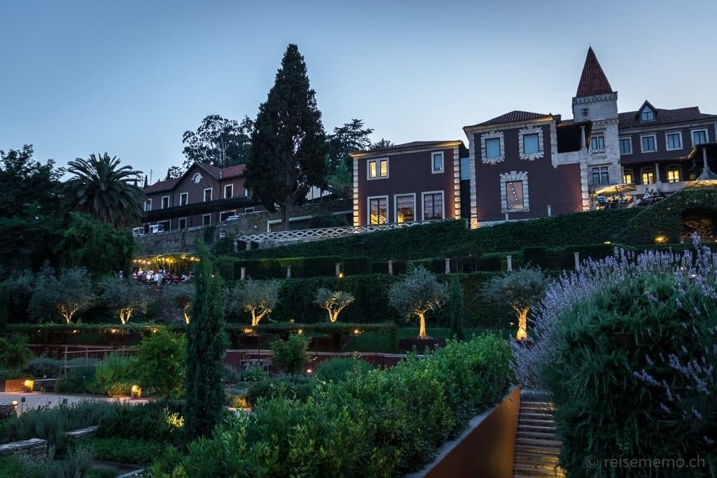 Six Senses Douro Valley zur blauen Stunde