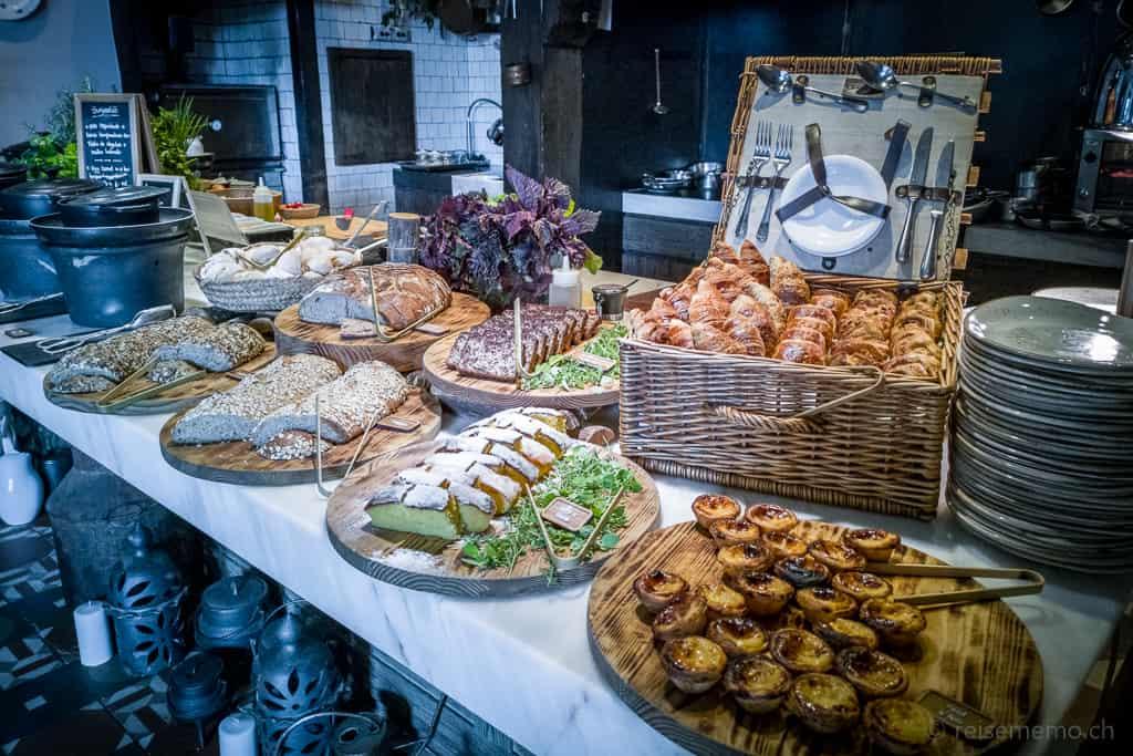 Frühstücksbuffet Six Senses Douro Valley