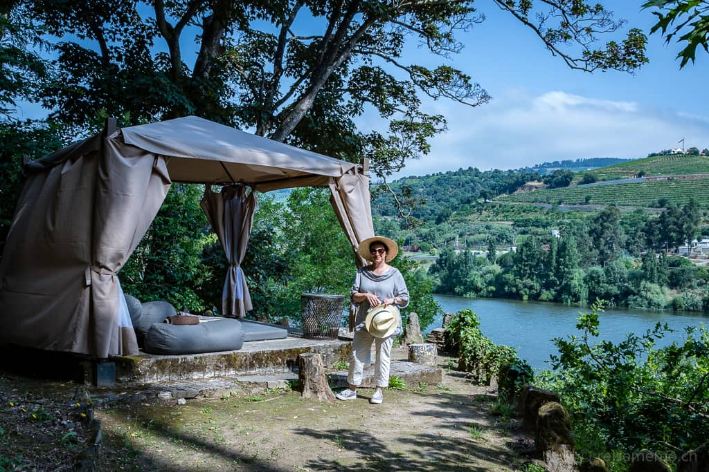 Katja Birrer im Six Senses Douro Valley
