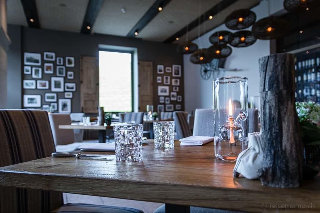 Tischgedeck im Restaurant