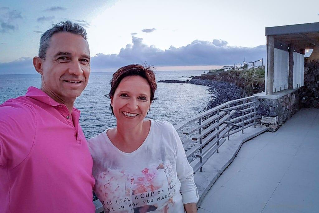Walter und Katja im White Exclusie Suites & Villas