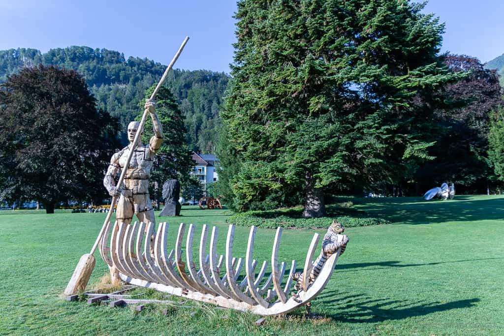 Skulptur von von Gertjan Eventhuis