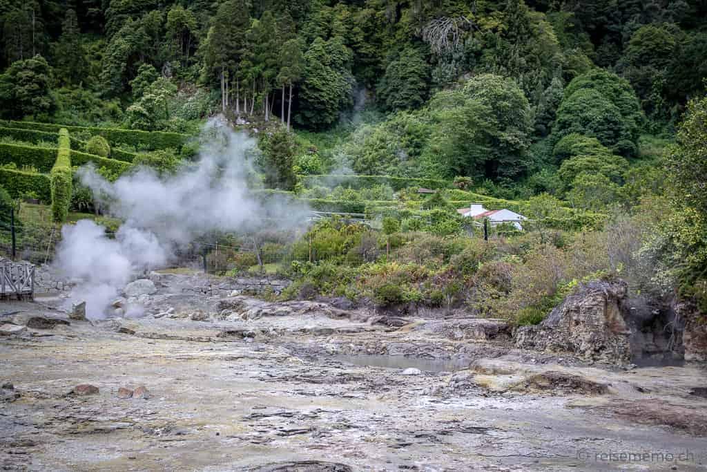 Fumarolas da Lagoa das Furnas