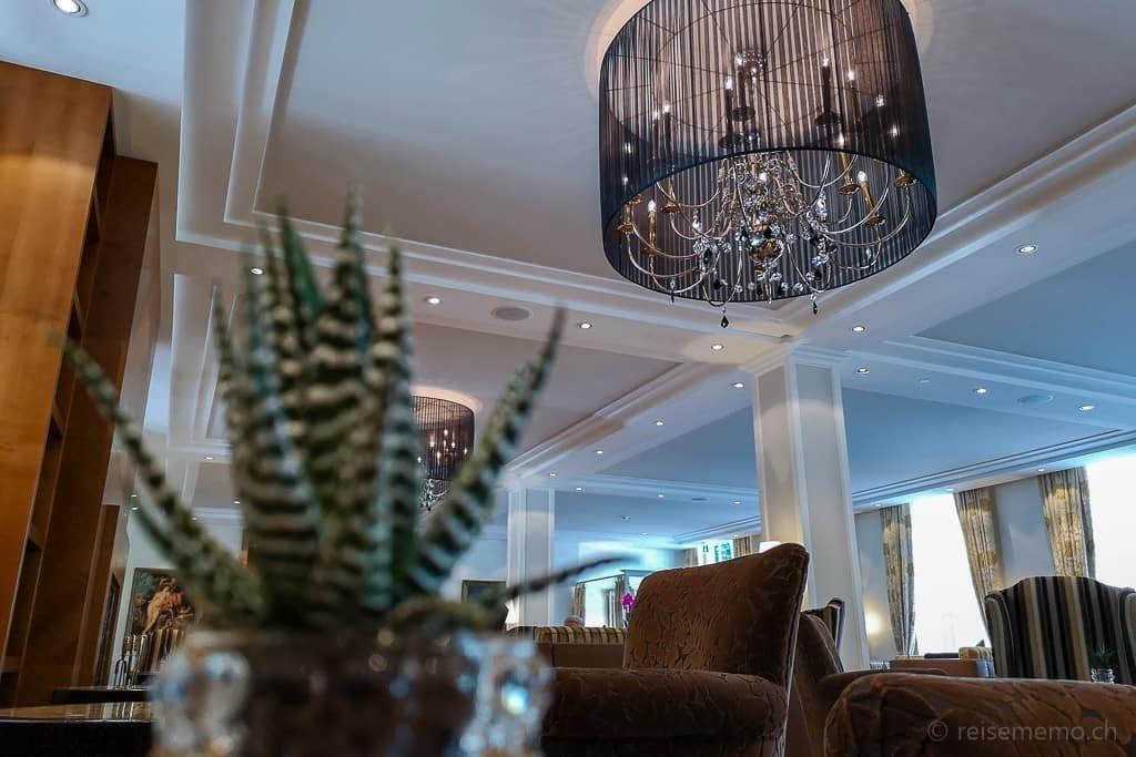 Lounge im Hotel Hof Ragaz