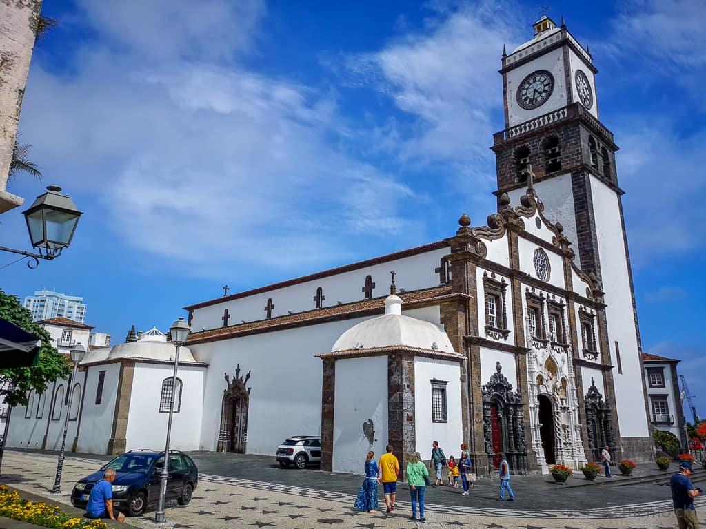 Kirche Matriz de São Sebastião in Ponta Delgada