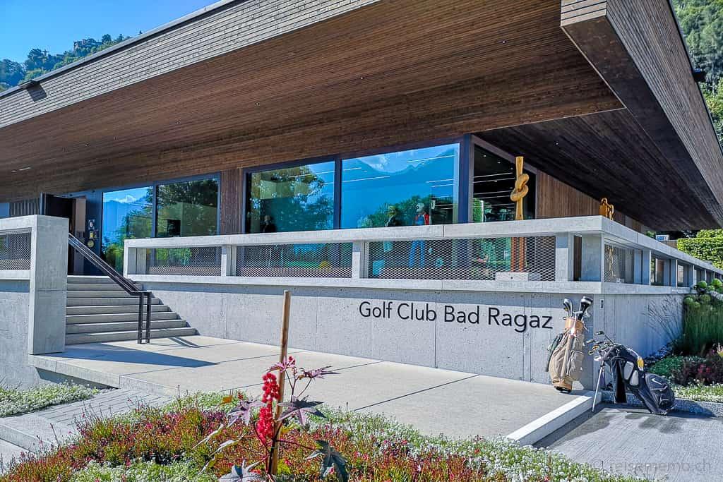 Klubhaus des Golf Clubs Bad Ragaz