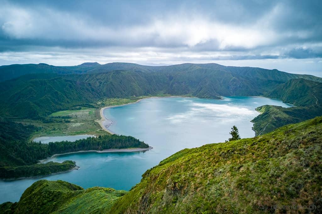 Lagoa do Fogo Sao Miguel Azoren