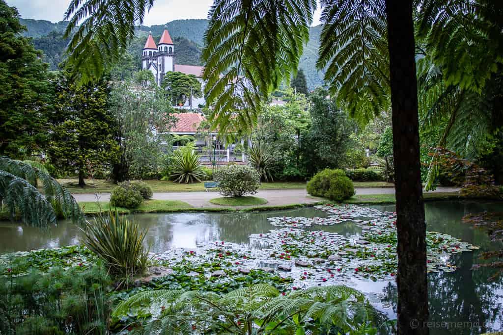 Parque Terra Nostra Furnas Azoren