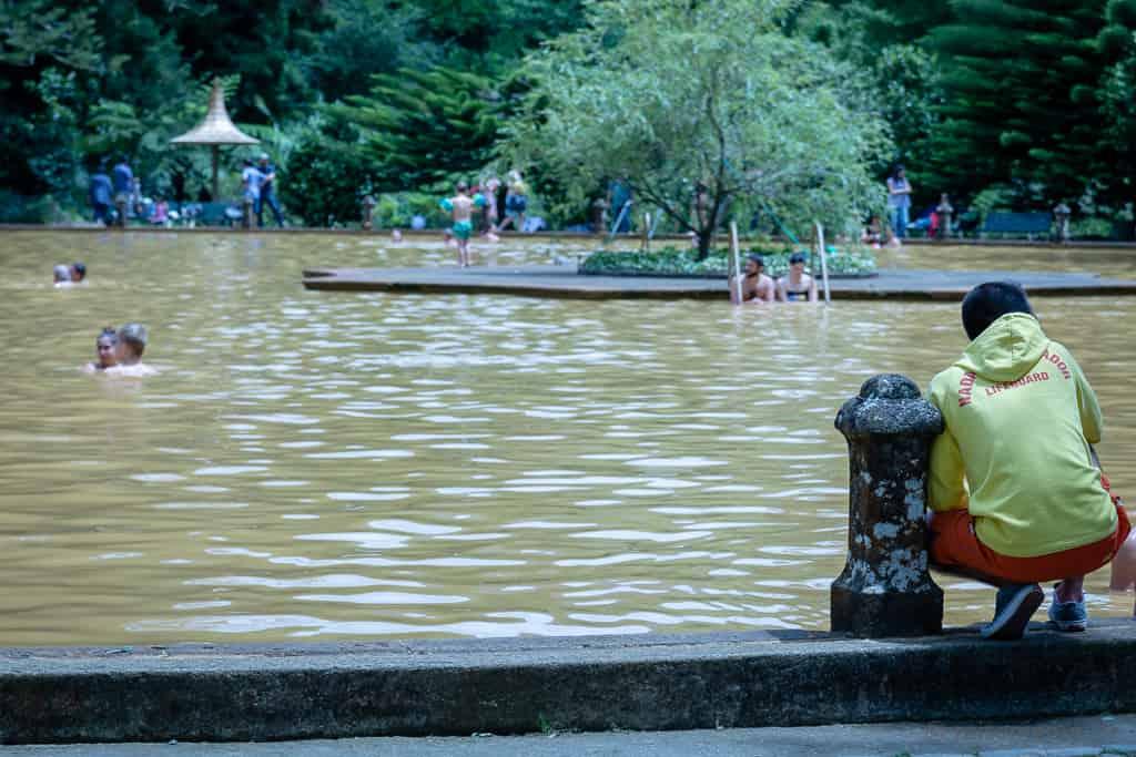 Thermalbecken im Parque Terra Nostra