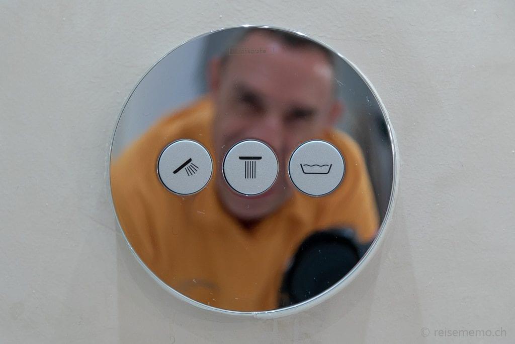 Duschen auf Knopfdruck