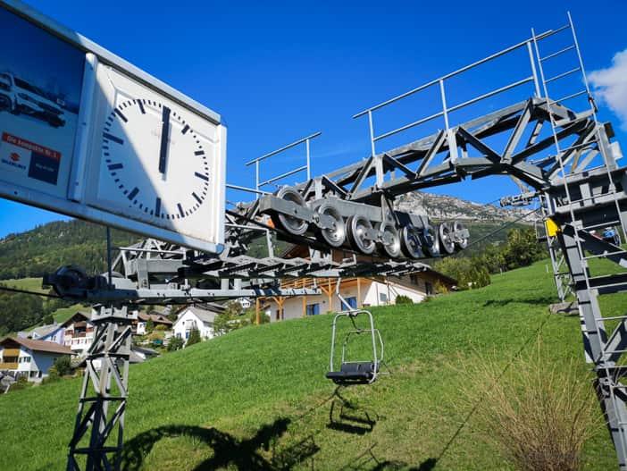 Talstation Sesselbahn Mattstock Amden