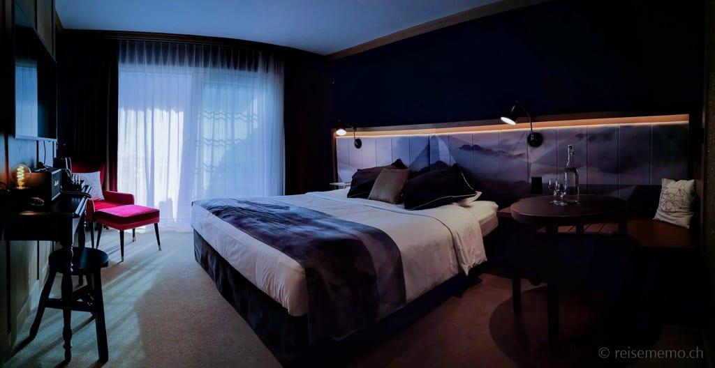 Eigersicht Zimmer des Boutique-Hotels Glacier in Grindelwald