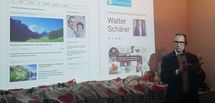 Walter Schärer an der 7. HashtagLove in Zürich beim Diogenes Verlag