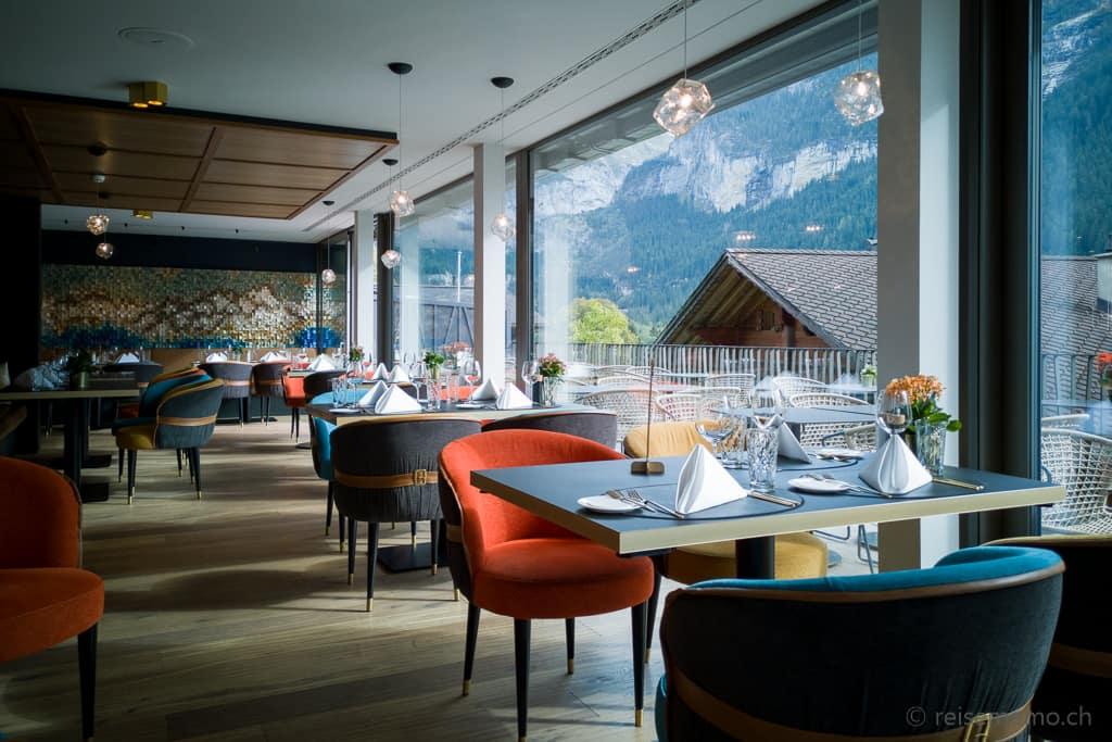 Restaurant Glacier mit Terrasse