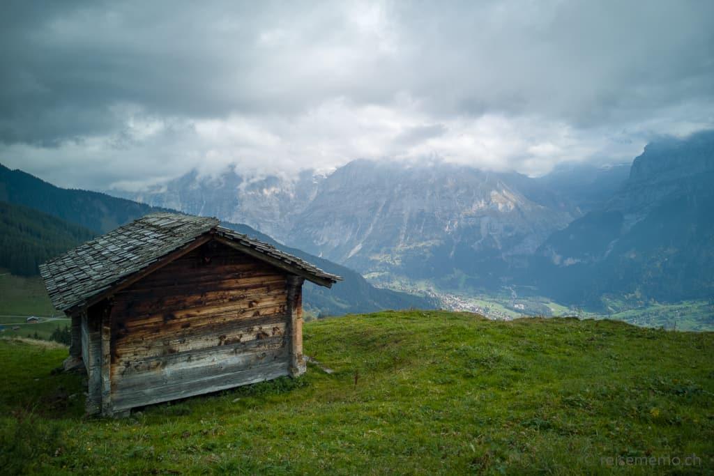 Stall auf der Bussalp Grindelwald